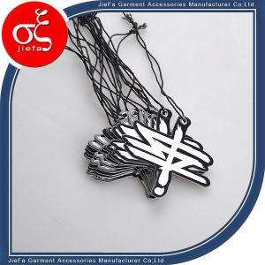 Custom Brand Logo Shape Paper Tag Printing Design pictures & photos