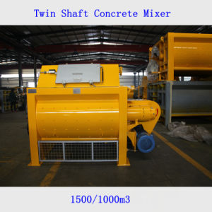 Ktsb 1500 Twin Shaft Concrete Mixer