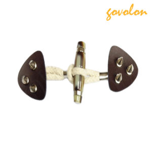 PU Tape Toggle Fastener Buckle with Metal Rivets pictures & photos