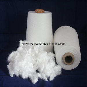 100% Polyester Spun Yarn for Knitting (Virgin of 40s) pictures & photos