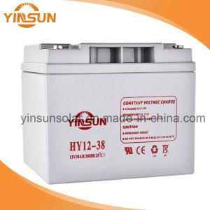 12V 38ah Great Power Solar Lead-Acid Battery pictures & photos