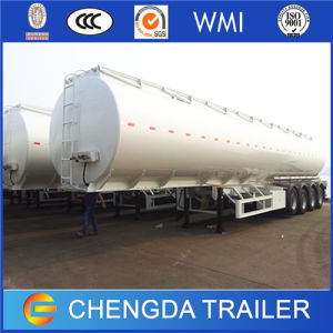 3 Axles 45000 Liters Fuel Tanker Trailer pictures & photos