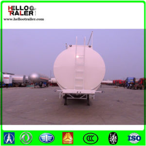 3 Axle 42000L Aluminium Petrol/Gasoline/Fuel Tank Truck Semi Trailer pictures & photos