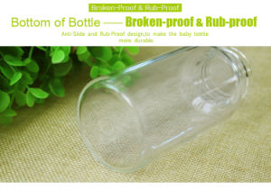 Free BPA High Quality Glass Baby Feeding Bottle pictures & photos