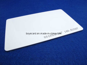 SGS Approved Tk4100 RFID Proximity ID White Card pictures & photos