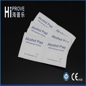 CE/ISO Approved Medical Non-Woven Sterile 70% Isopropyl Alcohol Pads pictures & photos