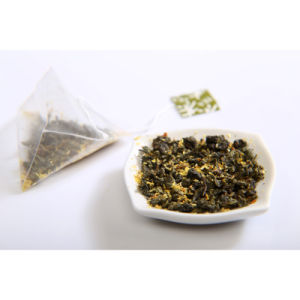 Organic Oolong Tea with Osmanthus Flower Petal Tea Bag
