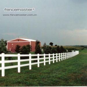 100% Virgin Vinyl PVC Ranch Fence pictures & photos