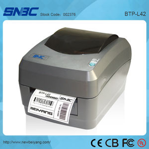 (BTP-L42) 104mm USB Serial Parallel Thermal Transfer Label Printer Small Design