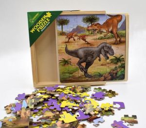 Kids Intellectual Wooden Puzzle Jigsaw with Box pictures & photos