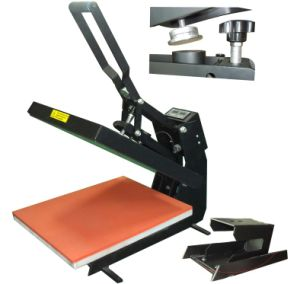 Hot Pressing Thermal Printing Heat Press Machine pictures & photos
