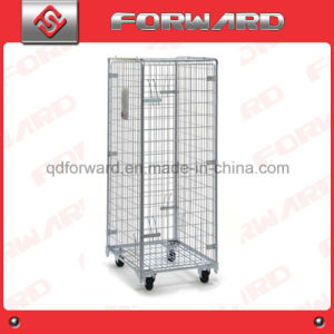 Warehouse Storage Folding Metal Security Roll Container Roll Cage pictures & photos