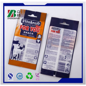 Poly Pet Food Packaging Bag with Hanger pictures & photos