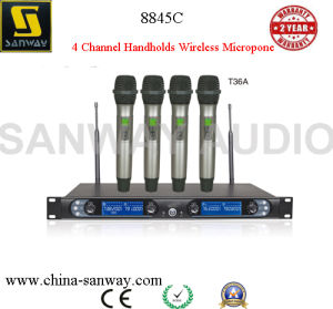 8845c 4 Channel Handholds Wireless Microphone pictures & photos