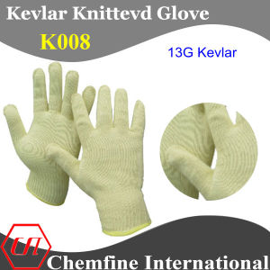 13G Kevlar Knitted Glove pictures & photos