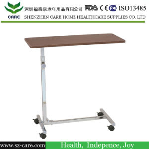 Tray Table Overbed Non-Tilt Laptop Computer Patient Hospital Bed Tray Bedside pictures & photos