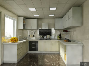 Lapland Contracted Stylish Stoving Varnish Lacquer Kitchen Cabinet (CA20-19) pictures & photos