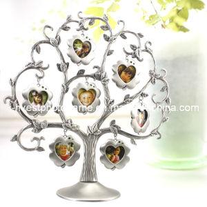 Heart-Shaped Photo Tree Aluminium Photo Frame (APS14001)