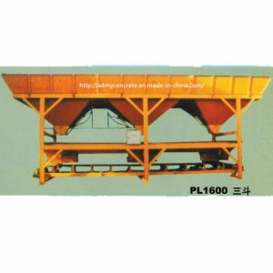 Pl1600-3 Aggregate Weighing System Concrete Batching Machine pictures & photos