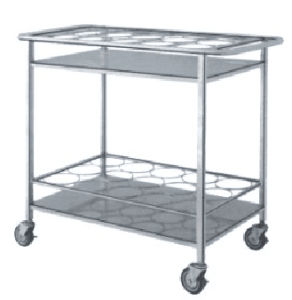 Stainless Steel Cart for Delivering Boiled Water Bottle pictures & photos