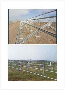 Solar Energy Aluminum Alloy Bracket Solar Photovoltaic Power Station Support pictures & photos