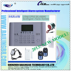 New Arrival Real Time Wireless GSM Alarm System with Multi Language (BL6000G) (BL-m-6000G)