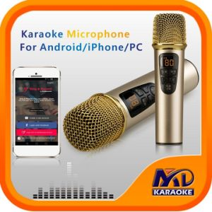 Echo Microphone for Andriod iPhone PC with Original Songs Vocal on/off Function