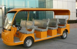 Best Selling 11 Seats Electric Sightseeing Car From Dongfeng on Sale pictures & photos