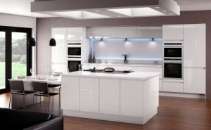 Good Design Lacquer Kitchen Cabinet Manufacturer Many Colors pictures & photos