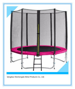 6FT Outdoor Trampoline with Inner Safety Enclosure pictures & photos