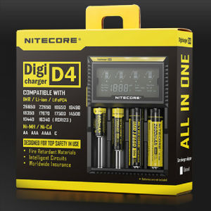 Original Nitecore D4 Intellicharger I2/I4/D4 Battery Digi Charger for Li-ion /Ni-MH Batteries pictures & photos
