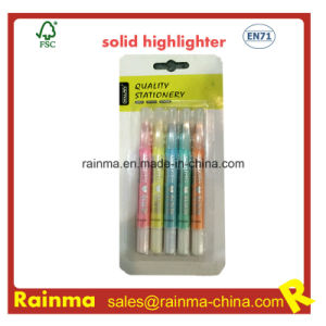Fluorescent Solid Marker with Metal Glitter Color pictures & photos