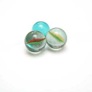 OEM New Design Petal Glass Marbles pictures & photos