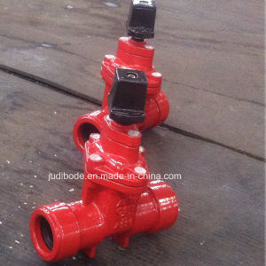 Awwa C509/C515 Resilient Seated Gate Valves Non Rising Stem Push on Ends 200/250psi pictures & photos