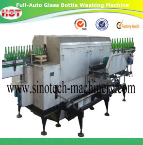 Full-Auto Glass Bottle Washing Machine pictures & photos