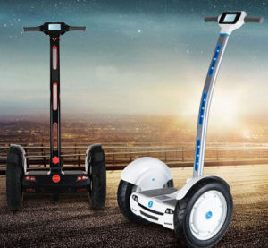 Cheap 15 Inch Self Balancing Electric Scooter Chariot with Handle pictures & photos