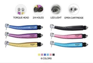Dental Colorful LED E-Generator High Speed Dental Handpiece (Colorful-TUP) pictures & photos