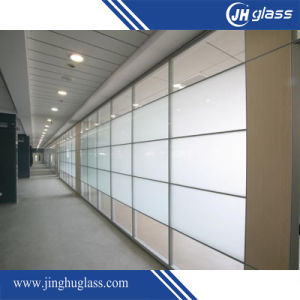 12mm Flat Acid Etch Frost Glass for Building pictures & photos