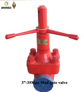 "3"" Mud Gate Valve (API 6A Petroleum Equipment)"