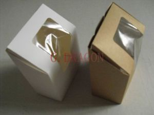 Kraft Cookie Boxes with Window (GD-CCB04) pictures & photos