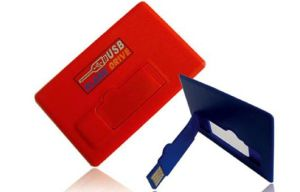 Card Slim Style Promotional Custom USB Flash Drive pictures & photos