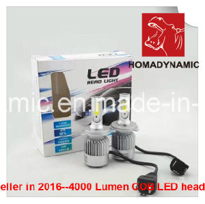High Lumen 8000lumen COB LED Headlight H4 High/ Low Beam pictures & photos