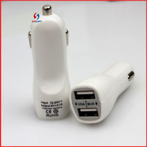 2.1 a Mobile Dual USB Car Charger for iPad iPhone pictures & photos