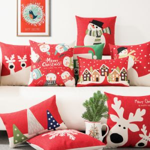 Home Decorative Sofa Cushions for Christmas pictures & photos
