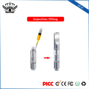 2017 G3-H Top Airflow No Leak Dual Coil Cbd Glass Cartridge 0.5ml 1ml Vape Hemp Oil pictures & photos
