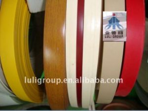 PVC Edge Banding (PVC band) with Solid Color and Wood Grain Color pictures & photos