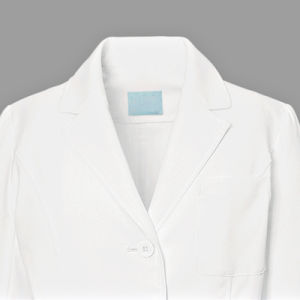 100% Cotton or 35% Cotton 65% Polyester White Lab Coat Women′s Medical Lab Coat pictures & photos