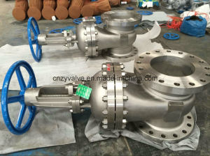 "API600 Class300 CF8m 10"" Cast Steel Gate Valve (Z41W-10-300LB) pictures & photos"
