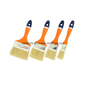 Nature White Bristle Paint Brush pictures & photos