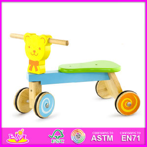 2015 New and Popular Kids Wooden Kids Tricycle, Best Wooden Children Tricycle and Hot Sale Wooden Baby Tricycle W16A012 pictures & photos
